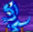Blue T-rex
