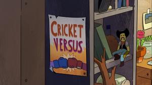 Cricket Versus titlecard