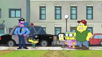 Big City Greens Working With Officer Keys (Clip)