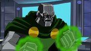 Dr. Doom sin mascara