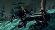 Nick fury vs winter soldier