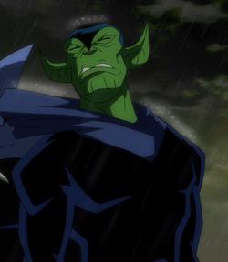 Pantera Negra Skrull al descubierto