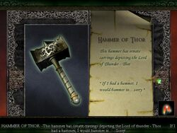 Limbo of the Lost - Hammer of Thor