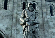 Helm Statue