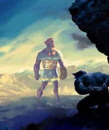 Tulkas and Melkor