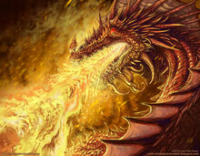 A sárkány tűz