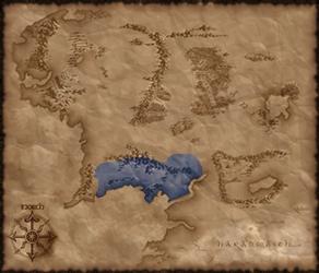 Location of Gondor in TATW