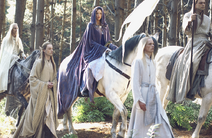 Elves leaving Middle-earth