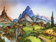 Auenland bis zum Einsamen Berg (Comic)