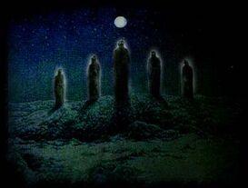 Могильные духи