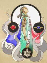Celebrimbor and Three Rings by AEonVicious