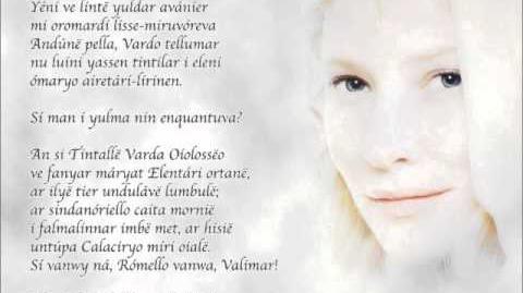J.R.R. Tolkien śpiewa Namarie