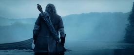 Faramir finding Boromir's body