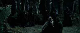 Five of the nine Wraiths