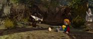 Lego lotr Boromir's death