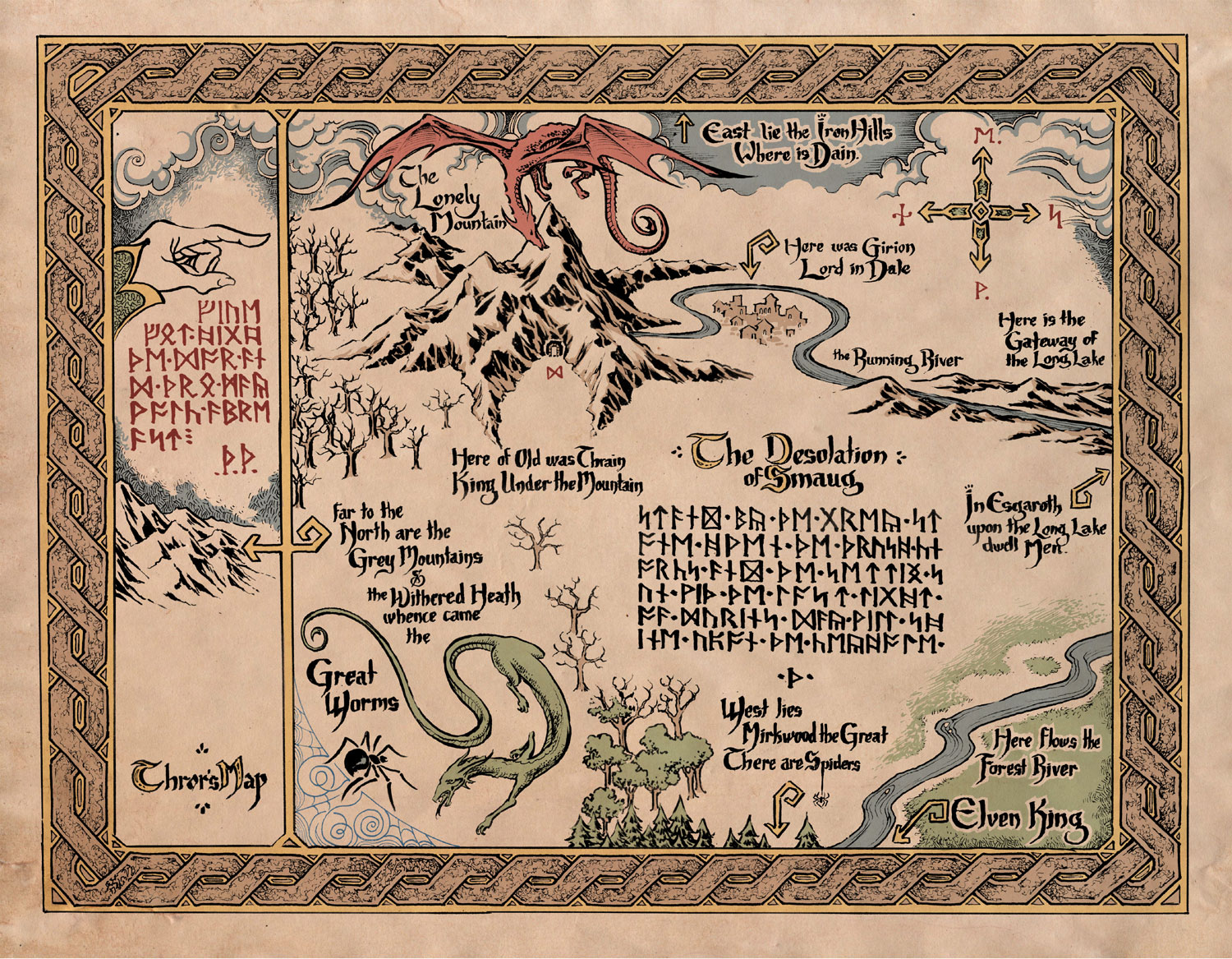Image  Mapwebjpg  The One Wiki to Rule Them All  FANDOM