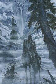 Caranthir at lake helevorn by kiprasmussen
