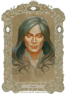 Feanor colour test scan by bohemianweasel