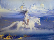 Fingolfin sketch by kimberly80-d9p9d47