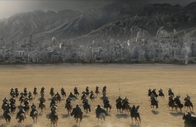Battle of Osgiliath  The One Wiki to Rule Them All  FANDOM