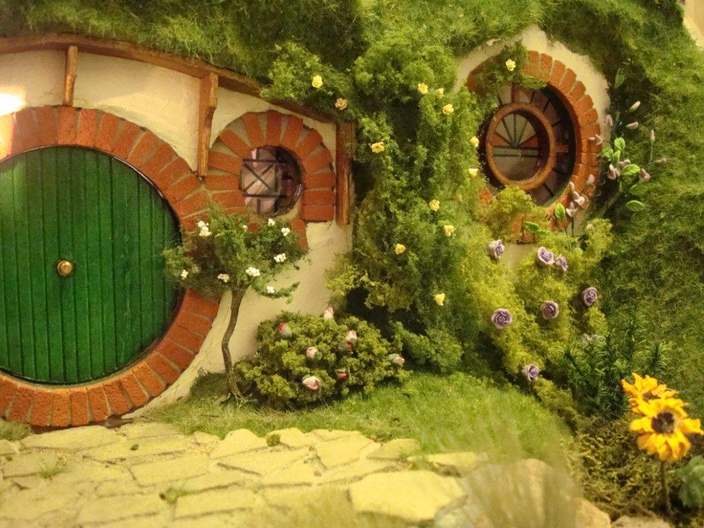 Hobbit hole the one wiki to rule them all fandom for Hobbit house drawings