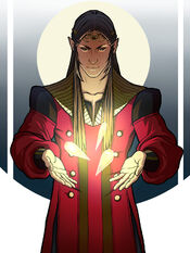 Feanor and Silmarils by Gerwel