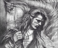 Fingon before the battle by venlian
