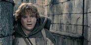 Сэм вдохновляет Фродо на продолжение миссии в Осгилиате