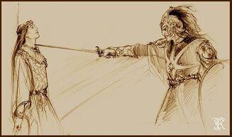 Feanor-Fingolfin by Catherine Chmiel