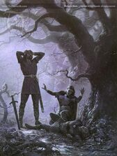 Ted Nasmith - Beleg is Slain
