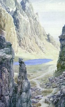 Mirrormere by Alan Lee