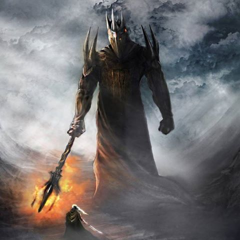 Image result for fingolfin vs morgoth