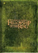 The Fellowship of the Ring Extended Edition DVD Cover