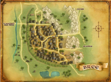 Map of Bree - LOTRO