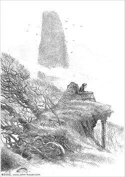 Tron Wypatrywania – John Howe