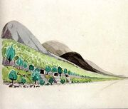 703px-J.R.R. Tolkien - Nargothrond (I)