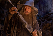 Gandalf and Glamdring