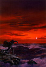 Ted-nasmith-maglor-casting-the-silmaril-into-the-sea