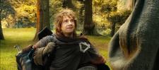 Bilbo & Gandalf part ways
