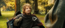 Bilbo & Gandalf part ways