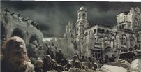 Orks im zerstörten Osgiliath