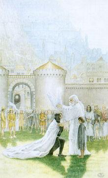 Koronowanie Aragorna