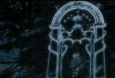 Durin's door