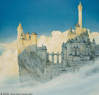 John Howe - Minas Tirith