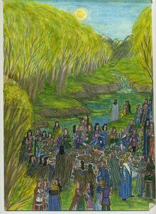 The feast of reuniting by murrauddin