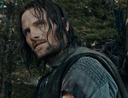 Aragorn na Amon Hen