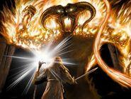 Gandalf vs. Durin's Bane