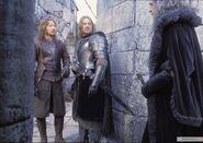 Денетор приходит к Боромиру и Фарамиру после отбития Осгилиата