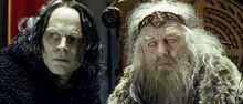 Gríma und Théoden
