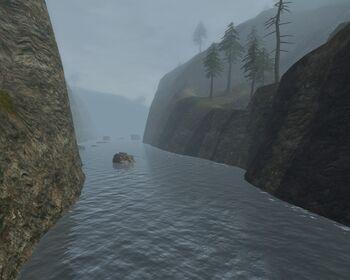 Mapa Jasnej Wody
